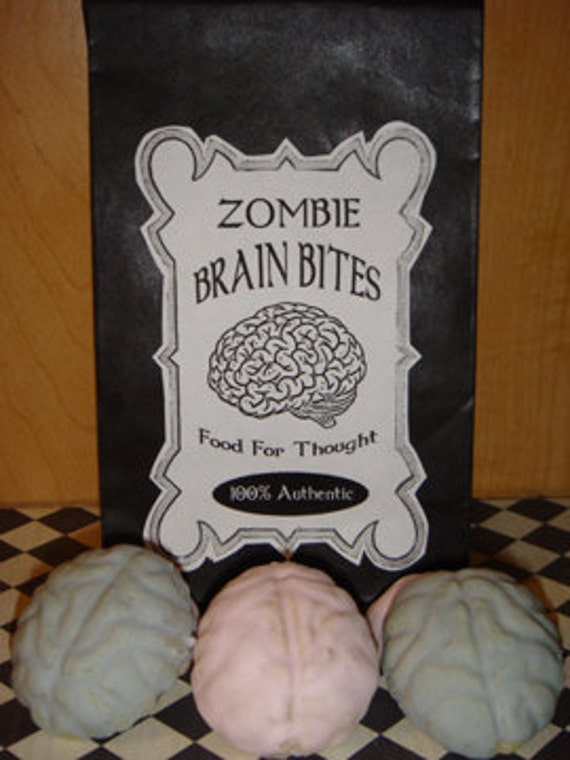 1 DZ  Zombie Brain Bites Sugar Cookies
