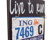 Live to run: Show your Race Bibs with a Difference