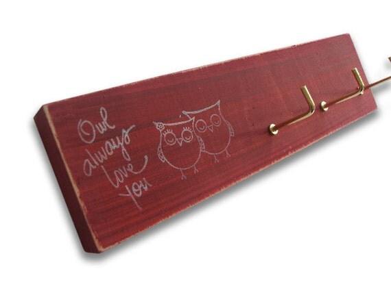 OWL always love you. key rack