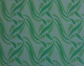 VINTAGE ABSTRACT FABRIC By George Courey & Fils Lte'e Sons Ltd, Fabrique Montreal