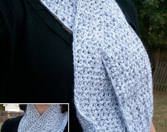 Crocheted Slip-thru Scarf