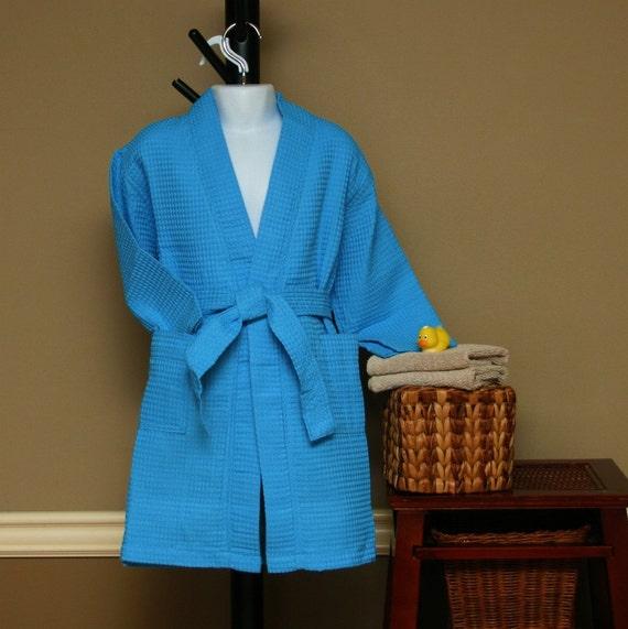 Boys Blue Bath Robe