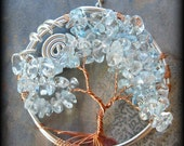 Wire-Wrapped Gemstone Tree - Ready to Ship