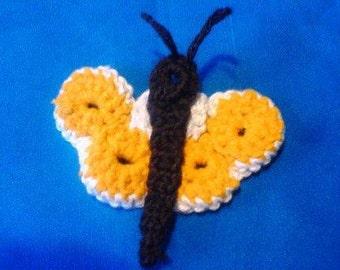 Crochet pdf Pattern Butterfly instant download