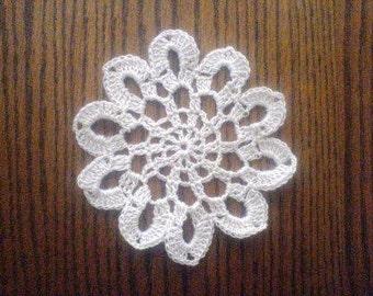 Mini Doily Coaster, Christmas Ornament, Snowflake, Dreamcatcher PDF Pattern, Instant download