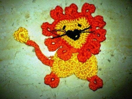 lion and lamb applique - lion and lamb applique pattern - Sjmeets