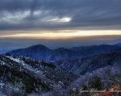 Winter Sunset  /  4x6 Fine Art Photography Print