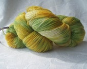Hand dyed lace weight 2 ply yarn 100% merino wool 100 grams 4
