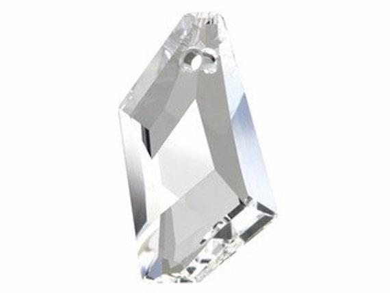 Swarovski 6670 24mm De-Art Pendant Crystal - Quantity 2