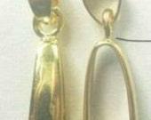 20-Large Gold Pendant Bails--20x9mm-FREE 50 Earring Hooks(4B10)