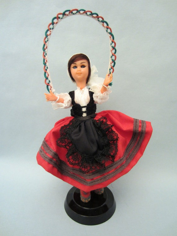 Vintage French Basque Country costume doll
