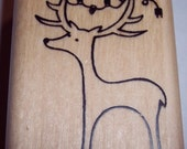 A Muse Deer with Lights