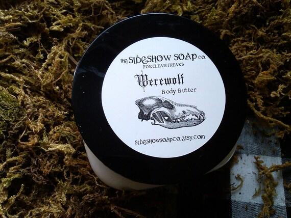 Werewolf Patchouli Cedar Amber Musk Oak Woods Body Butter