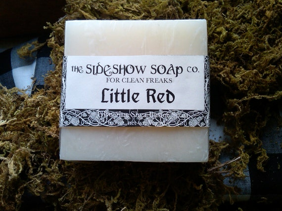 Little Red Fairytale Glycerine Shea Butter Soap Cranberry Fig