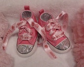 Swarovski Crystal Diva Bling Baby Shoes