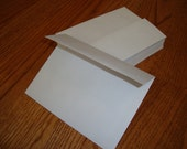 100 A-6 White Square Flap Blank Envelopes - Perfect for 4x6 Invitations, Invites, Photo Cards - U.S. SHIPPING INCLUDED