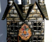 Custom Harry Potter Hogwarts Castle Hand-Painted Paper Mache House