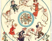 Ring-Around The Rosie - vintage Personalized Bookplates