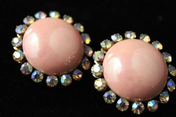 Vintage Coro of Nordstrom Pink Earrings