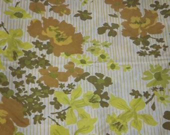 Petals on Parade Vintage Twin Sheet SET