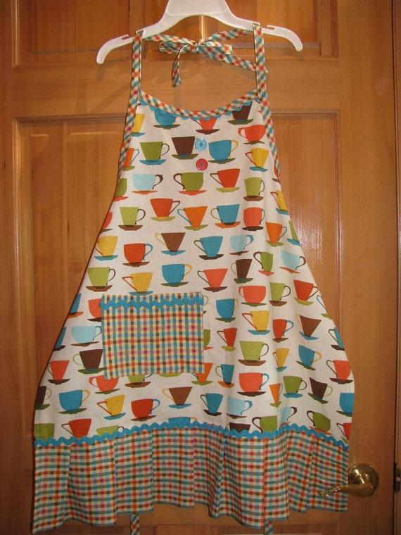 Coffee Cup/Tea Cup Apron