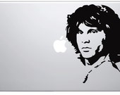 Jim Morrison fits any Laptop - Great Quality Decals and Fast Shipping