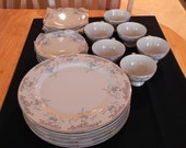 Reserved for Angelina until Oct. 6 2014 - Imperial China Seville Pattern Six Place Settings