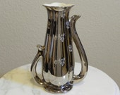 Pearl China Co Platinum Rose 22kt Vase