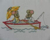 Mouse Boat Ride Picture