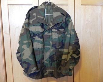 U.S. Army Camouflage BDU Coat - Unisex