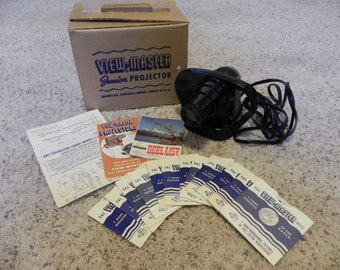 Viewmaster Junior Projector with 12 Viewmaster Reels