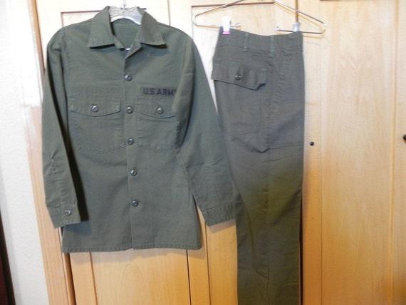 us army permanent press fatigue uniform. Black Bedroom Furniture Sets. Home Design Ideas