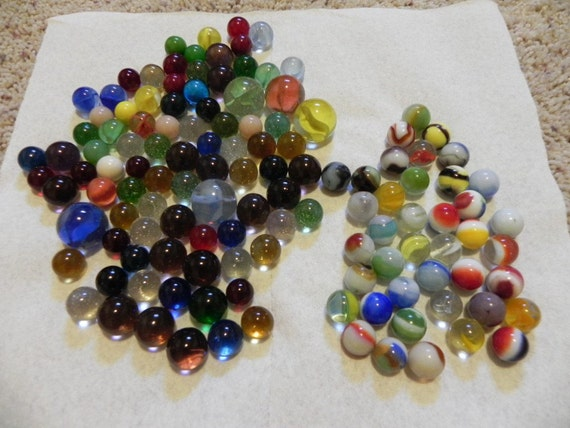 Marbles by Marble King, Vitro Agate, and Others
