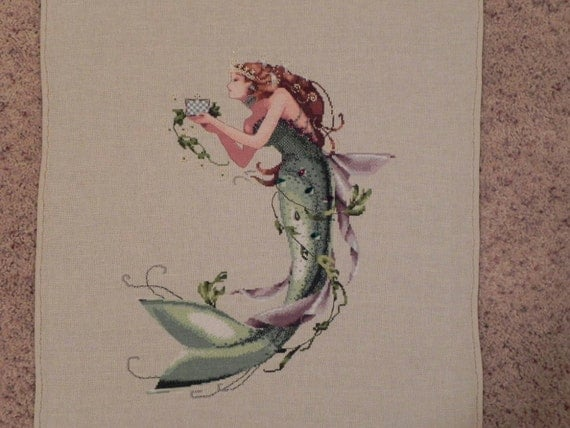 Mermaid Queen Cross Stitch