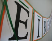 Eire Go Brach banner, St. Patrick's Day banner, St. Patrick's Day sign