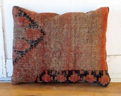 Oriental Rug Pillow, Red Collection 4 No. 4