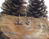 Cupid's Arrow Dangle Earrings