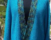 PDF Pattern for Award Winning Knit Komono Style Jacket - One Size Fits Small through Extra Large