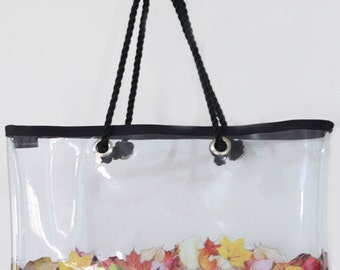Lucid Series Beach Bag No.2 - Leaves
