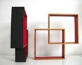 RESERVED- One Vintage Modern Shelf