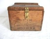 Antique US Navy Spare Parts Box