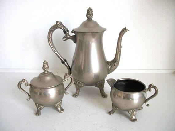 Gorgeous Vintage Coffee Set
