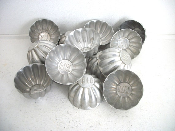 Vintage Jello Molds- Instant Collection