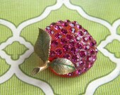 Apple Forbidden Fruit Apple brooch