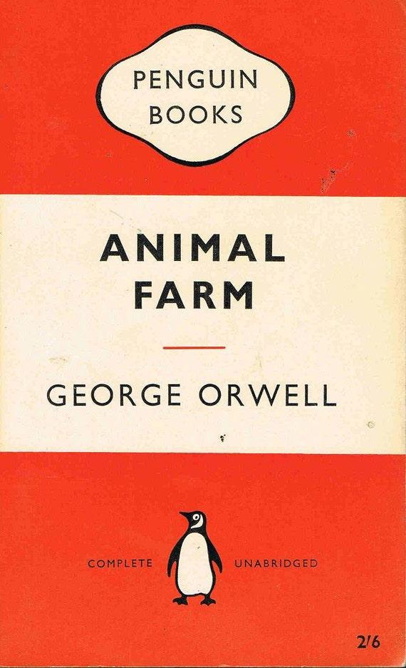 Animal Farm Penguin Book Cover ~ Penguin book animal farm george orwell