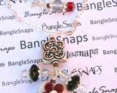 BangleSnaps Bloom Dangle Charm Necklace