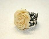 Urban Cowgirl Ring - Yellow Rose