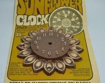 Popular Items For Sunflower Clock On Etsy