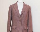 SALE - vintage 1960's tweed blazer
