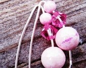 Pink Willow Earrings - FREE SHIPPING